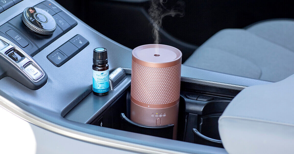 Portable diffuser and Travel Blend