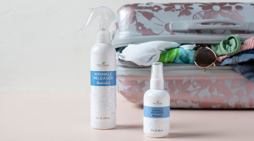 Plant Therapy's Wrinkle Releaser in 2 size options: 8 oz and 3 oz